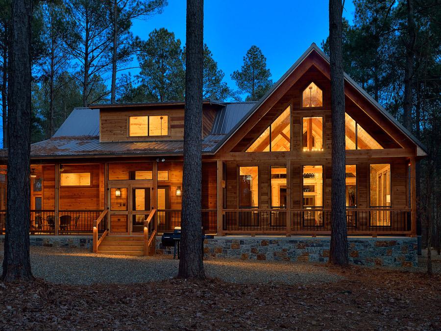 Luxury Vacation Rental Cabin Not Today Broken Bow Ok